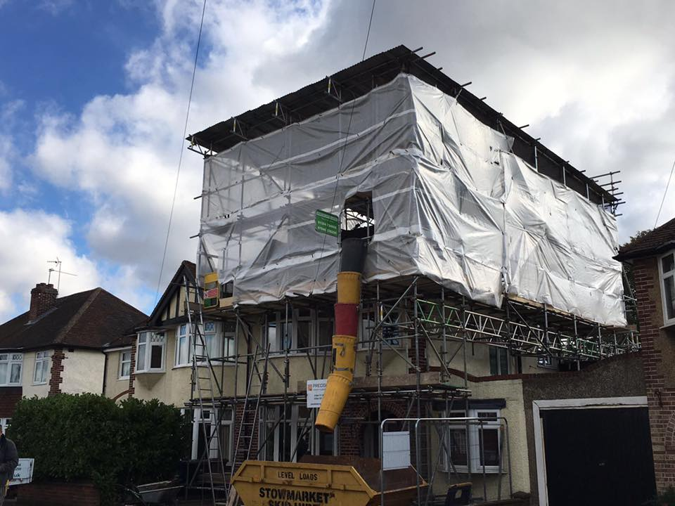 Temporary Roofs Cambridge, Bury St Edmunds, Cambridgeshire and Suffolk - KMS Scaffolding Ltd
