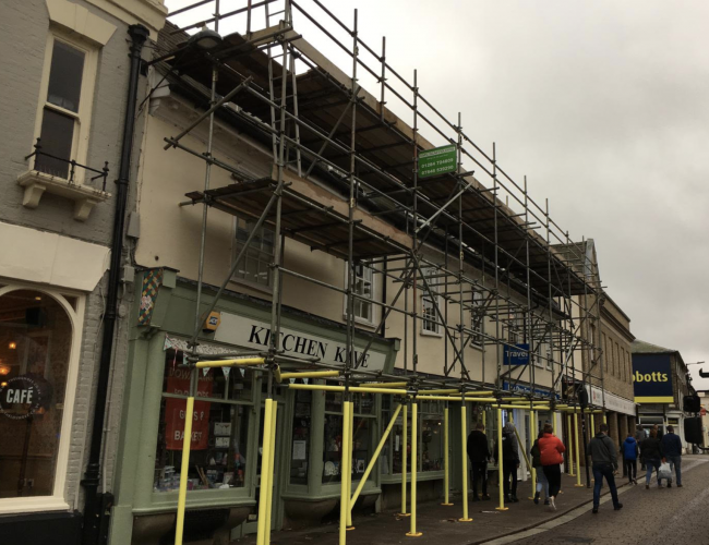 Commercial Scaffolding Cambridge, Bury St Edmunds, Cambridgeshire and Suffolk - KMS Scaffolding Ltd